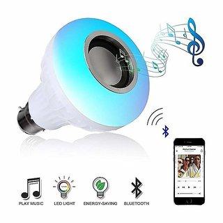 12 watt led music bulb inbuilt bluetooth speaker