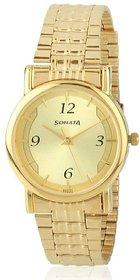 Sonata 7987ym01 analog watch for men