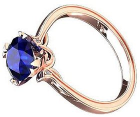 Original & Effective Stone  5.25 Ratti Gold Plated Gemstone Finger Ring Precious & Effective Stone Ring For Unisex