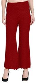 TNQ Women's Winter Wear Woolen Trouser Full Length Palazzo Pants