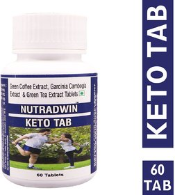 NUTRADWIN Keto Tablet Ultra Weight Loss Fat Burner Supplement with (Green Tea Extract + Garcinia Cambogia Extract + Gree
