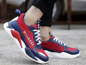 Woakers Men's Red Sneakers