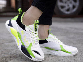 Woakers Men's Green Sneakers