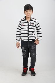 LTP Boy's Blend Three Piece set for Kids (9387) - White