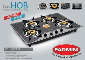 Padmini 4 Burner Built in Hob CS 400 GL IB