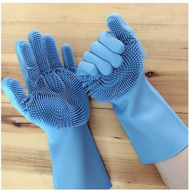 ANAMAX Kitchen Gloves Hand Gloves Cleaning Gloves Safety Gloves