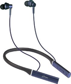 PTron InTunes Classic Bluetooth Headset (Dark Blue, In the Ear)