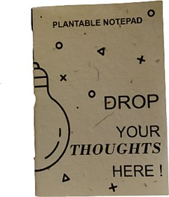 PapergeniEco-Friendly and Recycled Notepad with Seed (Pack of 3)