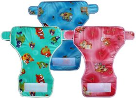 OFFE 5 REUSABLE WATER PROOF STICKY DIAPER