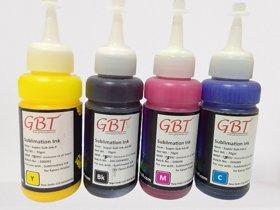 G.B.TECH Sublimation Ink , 4 pcs / Box