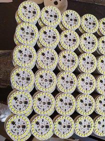 saraswati garden LED Bulb Raw Material of 9 Watt DOB Direct on Board (White) - Pack of 5