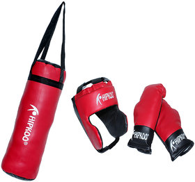 Hipkoo PVC Material Boxing Kit for Kids (3 to 10 Years)