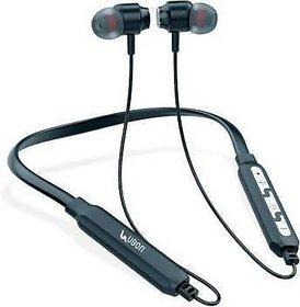 Ubon CL-15 Ehinic Boom Bass Wireless Neckband Bluetooth Headset  (Black, In the Ear)