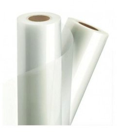 G.B.TECH Lamination Roll High Gloss , 27 Inch , 27 mic , 100 mtr ( Core Dia . 60 mm / 2 inch)