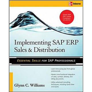 Implementing Sap Erp Sales  Distribution BY GLYNN C. WILLIAMS