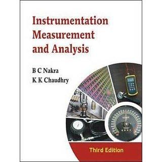Instrumentation, Measurement  Analysis BY B.C NAKRA , K K CHAUDHRY