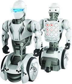 Junior 1.0 Robot with Innovative 9 Point Touch Panel, Cool LED Eyes