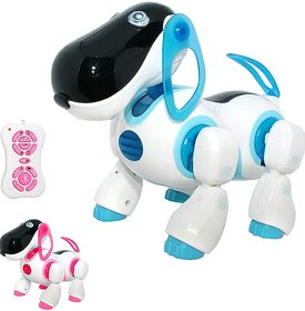 Smart Dog Toy with Interactive Features, Remote Control
