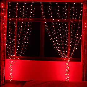 Mettstone red colours decorative light pack of-02