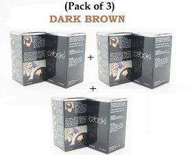 Caboki Hair Building Fibers 25Gm  Pack Of 3 Dark Brown -Best Seller Best Quality At Best Rate
