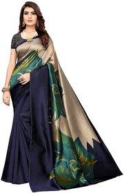 SVB Saree Blue Art Silk Mysore Silk Saree