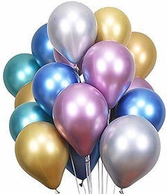 Hippity Hop Silver Chrome Balloon for Kids Party Supplies,Parties Decoration and Celebration