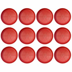 AFFIX  ENTERPRISES UV Treated Plastic-Tray Plate Saucer Bottom Tray (12 Numbers-Tray 8-inches)