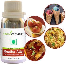 Saanvi Perfumers Meetha Attar - For Use Mutton/Chicken, Chops, Qurma, Biryani, Pulao, Khushka, Stew, Kababs, Ice Cream