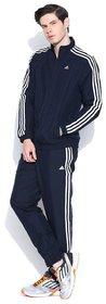 Adidas Men's Navy Polyester Tracksuit