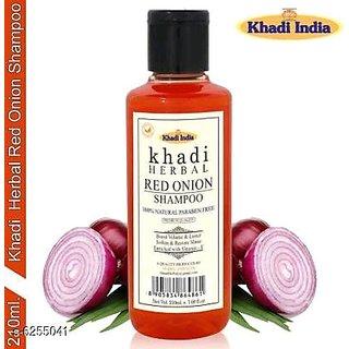 Khadi   red onion  Harbal shampoo 210ML Pack of 1
