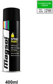 Magsol FLUORESCENT GREEN Spray Paint  - 400 ml