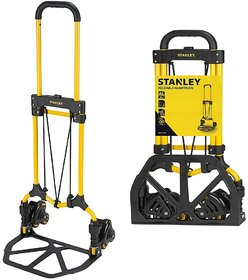 Stanley Stair Climbing Hand Truck, Yellow, FT584, 30Kg/60Kg capacity