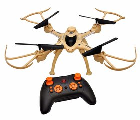 2.4 Ghz Remote Control Drone, 6-Axis Quadcopter, One Key Return, Headless Mode, R/C Drone, Army Brown