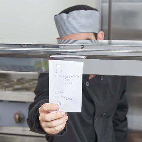 ZOOV Aluminium Kitchen Ticket Holder Food Order Slip Organizer , 12-inch