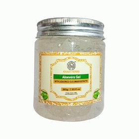 Aloevera Gel with Liquorice  Cucumber Extracts - 200g