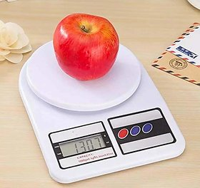 NITLOK Electronic Digital Kitchen Scale, Weight Machines for Kitchen, Kitchen Weighing Scale Digital (Multicolor 10 kg)