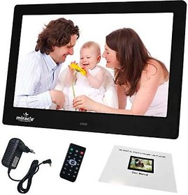 Miracle digital 10inch Multi-Functional Digtal Media Photo Frame with LED Blacklight, Supports SD/MMC, USB DIsk Card/AUX