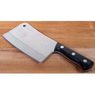 M Mapon Vegetable and Meat Chopping Silver Stainless Steel Knife Multipurpose Use for Home Kitchen