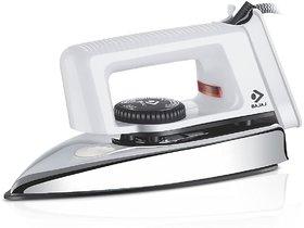 Bajaj Popular 1000-Watt Light Weight Dry Iron (White)
