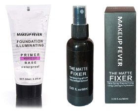 Makeup Fever Combo of  FIXER and  PRIMER SET OF 2
