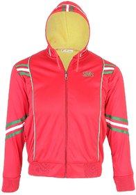 modestella kids full sleeve red hoodi sweatshirt jacket
