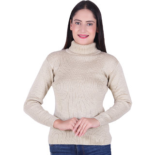 Ogarti Woollen High Neck Bawa Colour women's Skivy