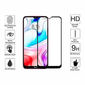 Full Glass Edge to Edge scratchproof Tempered Glass for Redmi 8