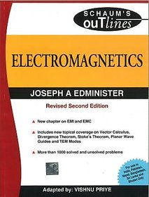 Electromagnetics By Joshep A Edminister