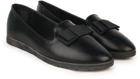 Mary Jane Party Wear, Casual Shoes For Women (Black)