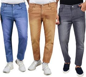 Millions Joy Men's Jeans (Pack of 3)