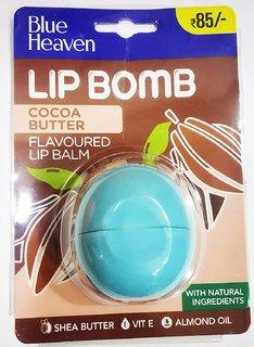Blue Heaven New Lip Bomb Heavenly Lip Balm, Cocoa Butter, 8g