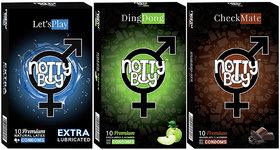 NottyBoy Multi Variety Pack (3x10s)