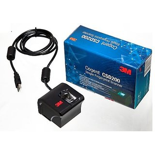 Cogent CSD 200 Single Biometric USB Fingerprint Scanner