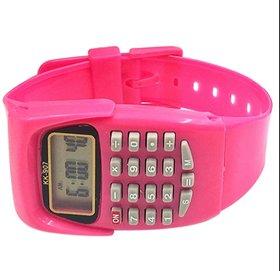 FARP Calculator watch for kids watch boys watch girls watch PINK colour